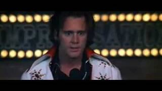 Jim Carrey as Andy Kaufman as Elvis