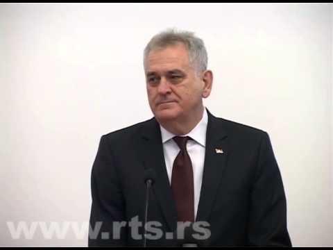 Toma Nikolić ispravlja prevodioca