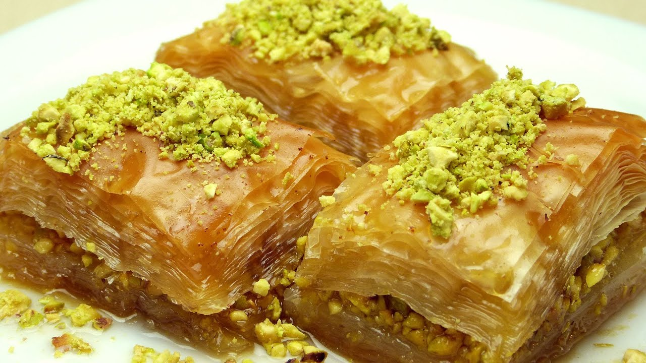 How To Make Baklava Easy Turkish Recipes Youtube Watermelon Wallpaper Rainbow Find Free HD for Desktop [freshlhys.tk]