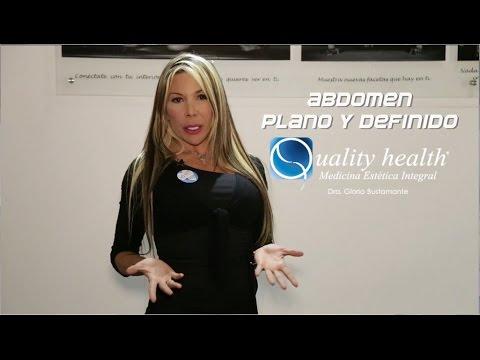 Como obtener un abdomen definido - Dra. Gloria Bustamante - Quality Health®