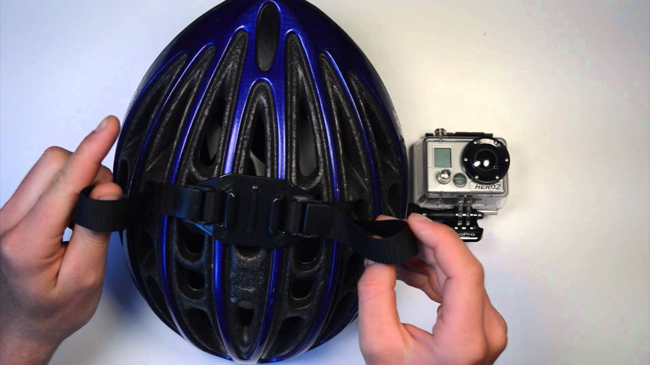 how to add a goggle strap to a skateboardin helmet
