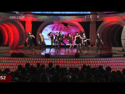 HD SNSD - Run Devil Run @ BaekSang Art Awards 3/3 Mar26.2010 GIRLS' GENERATION Live 720p