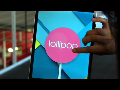 Google's Android 5.0 Lollipop OS is super sweet