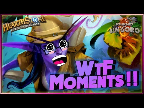 Hearthstone- WTF Moments - Funny and lucky Rng Moments
