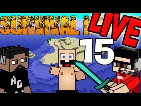 Minecraft | Survival Island con el Wero y Alfalta Episodio 15 LIVE