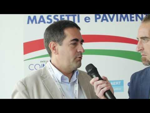 Costantino Vinella: intervista al FORUM NAZIONALE MASSETTI e PAVIMENTI