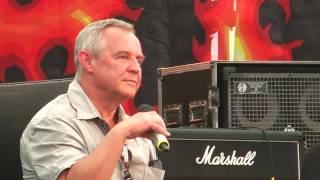 Marek Kondrat - lekcja angielskiego na Woodstock