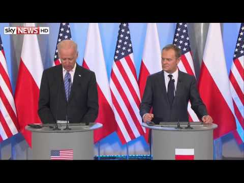 Biden Condemns Russia's 'Land Grab' In Ukraine