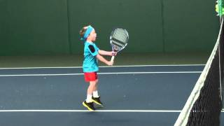 4 Year Old Tennis Player