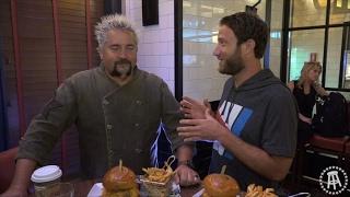 Barstool Pizza Review - Regina Pizzeria (Foxwoods) With Special Guest Guy Fieri  (Bonus Burgerthots)