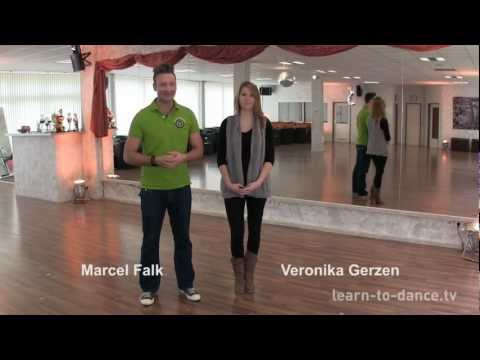 LEARN-TO-DANCE.TV: Disco Fox Grundschritt auf der Linie powered by Hamburg Dance Academy
