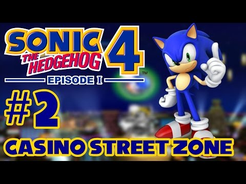 Sonic 4 Episode 1 - Casino Street Zone