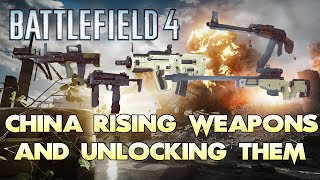 Battlefield 4 All New Weapons And How To Unlock Them All