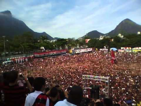 Apresentação Ronaldinho Gaúcho e Festa do Flamengo