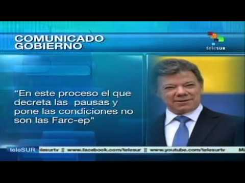 We will resume the dialogue when we deem it appropriate: Santos