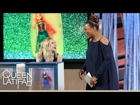 "Kristen Bell Plays ""What's That?"" Frozen Edition 