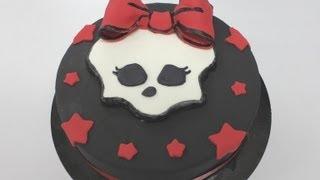 Tarta De Monster High Realizada En Fondant Por Keyks