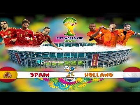 Netherlands vs Spain 5-1 World Cup Group B Game 1 June 13/06/2014 Match Thoughts!