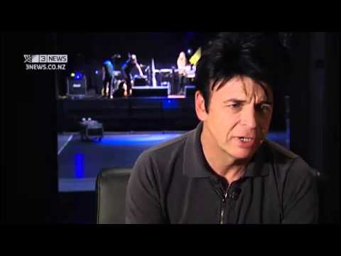 Gary Numan Interview, 3News 2014, New Zealand.