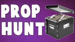 NOT CHEATING.. (Gmod Prop Hunt with SeaNanners, Hutch, Diction, Gassy, Chilled)