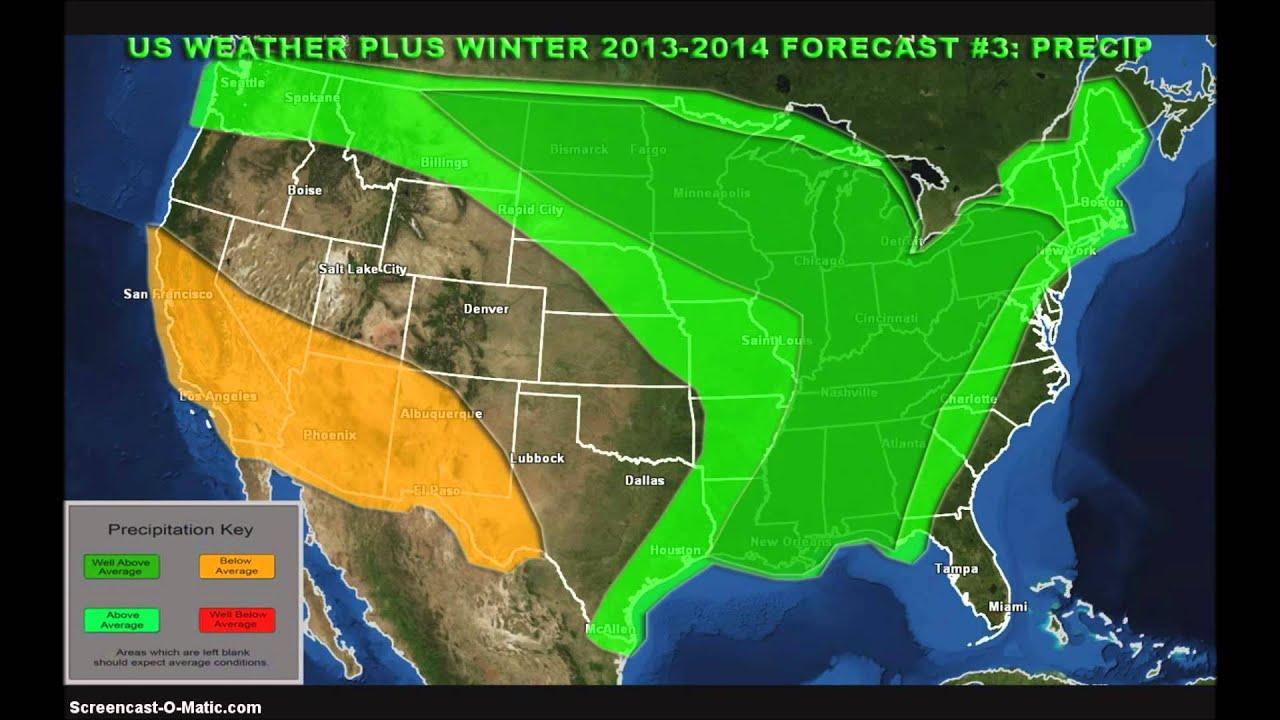 2013 2014 US Winter Forecast