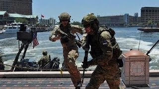 America : U.S. Special Forces, Foreign Troops Practice