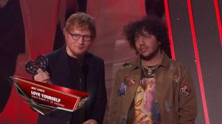 Ed Sheeran Acceptance Speech | iHeartRadio Music Awards 2017