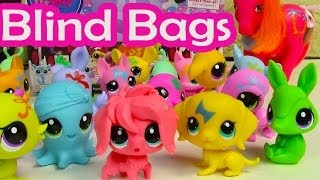 Blind Bag HAUL Littlest Pet Shop Party Stylin Pets BOX