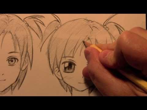 "How to Draw a Manga Face, 3 Different Ways [HTD Video #9], OFFICIAL CRILLEY PLAYLIST: _http://tinyurl.com/d3rx7fg All 3 ""Brody's Ghost"" books at Amazon: http://tinyurl.com/7dyeoer ""Mastering Manga"" book at Amazon: ht..."