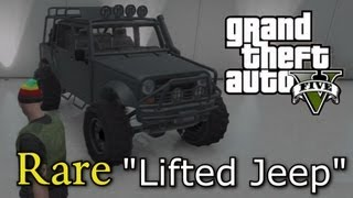 *GTA Online* How To Get The MerryWeather Jeep (GTA Online