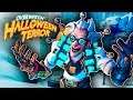Grind to Gold Rank in Competitive Halloween Terror Event Skins Lootbox Overwatch Gameplay
