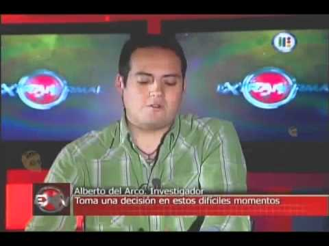 Extranormal La desicion de Alberto del Arco Deja o no el programa? 12 sept 2010