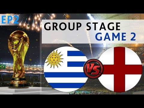 [TTB] 2014 FIFA World Cup Brazil - Uruguay Vs England - Group Stage Game 2 - Ep2