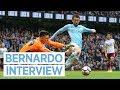 BERNARDO SILVA POST MATCH INTERVIEW Manchester City 3 0 Burnley