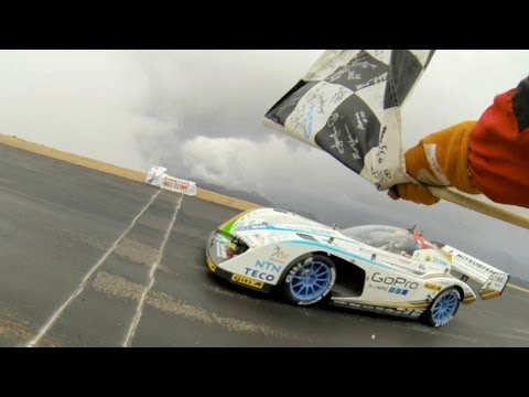 GoPro: The Electric 'Monster' Tajima - Pikes Peak 2013 Electric Class