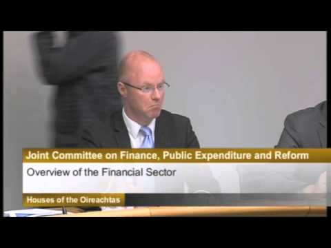 Ulster Bank at the Finance Committee