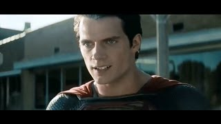 Man Of Steel Movie (2013) Superman Vs General Zod