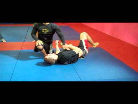 Passing Guard to Arm Triangle - No Gi