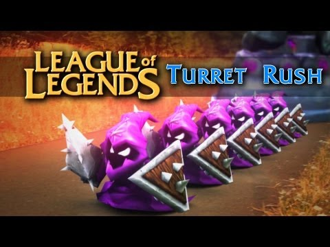 League of Legends: Turret Rush (live action)