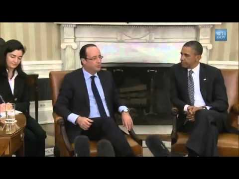 Hollande chante Obama
