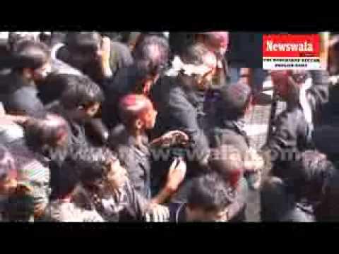 Bibi Ka Alawa 10th Moharram Part 2 of 2. 2013/14 Hyderabad India.