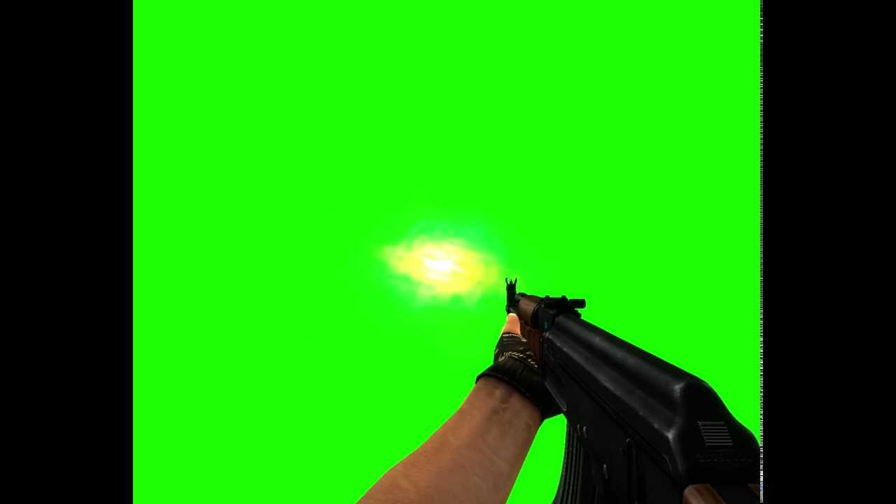 how to add green screen to any video