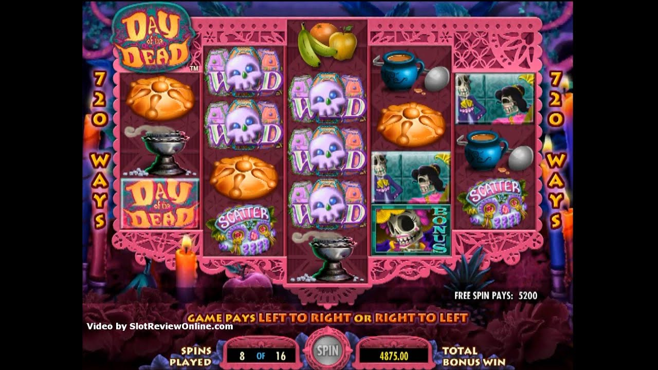 Day of the Dead™ Slot Machine Game to Play Free in IGTs Online Casinos