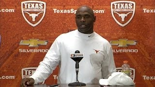 Charlie Strong press conference [April 1, 2014]