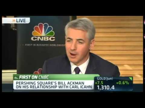 Bill Ackman & Carl Icahn Working Together Ending Feud