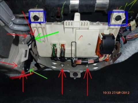 Mazda 3 - wymiana filtra klimatyzacji/kabinowego M3 BK - mazdaspeed.pl