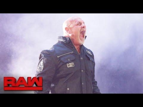 Retour de Goldberg à WWE RAW le 17 octobre 2016