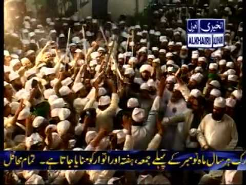 Alkhairi - 50th Urss Mubarak 2013 - Zakreen ke Kaafilein reaching Mushidabad Shareef (2/2)