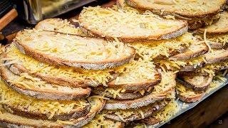 LONDON STREET FOOD, BOROUGH MARKET, BIG GRILLED CHEESE SANDWICH, INTERNATIONAL STREET FOOD