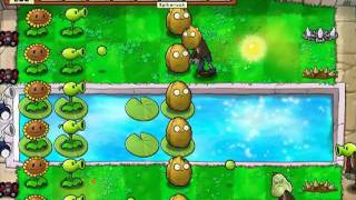 Let's Play Plants Vs Zombies 52 Zombotany 2